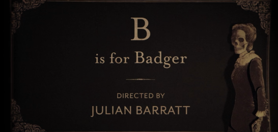 b is for badger