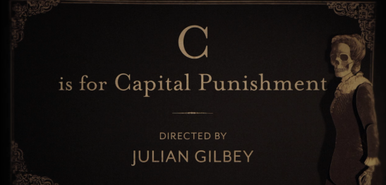 c is for capital punishment